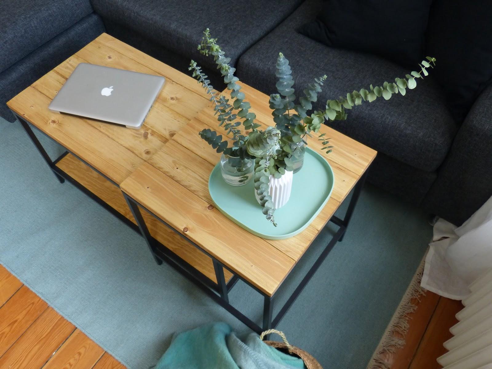 IKEA Hack – Satztische im Altholz Look | Johanna Brüggemann
